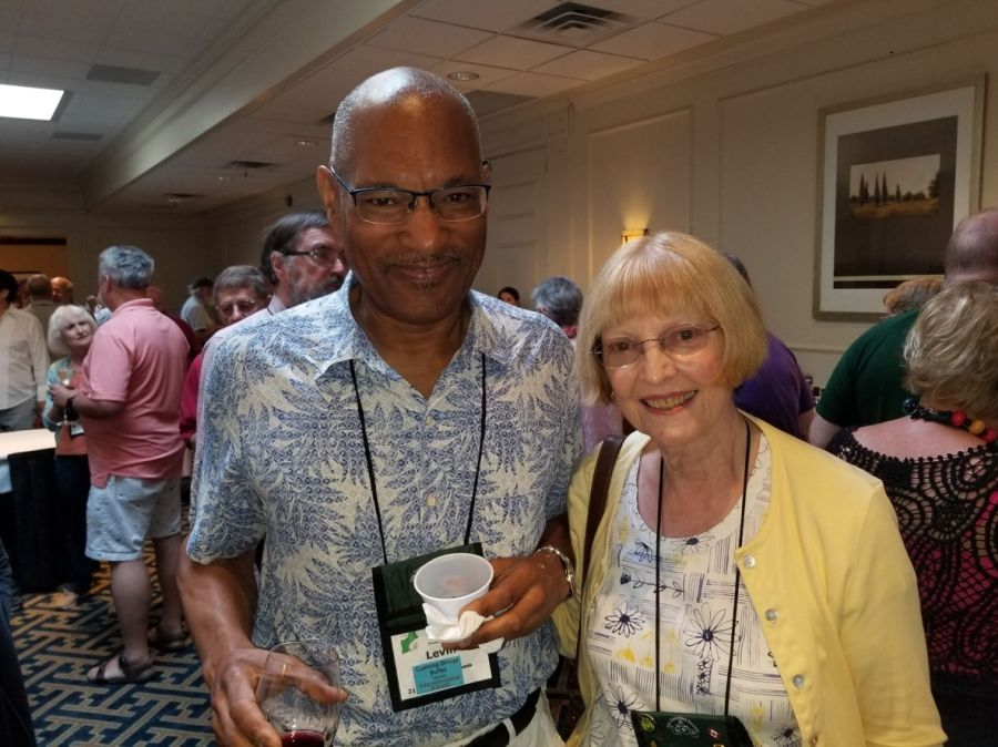 Levin Tilghman and Betsy Branson