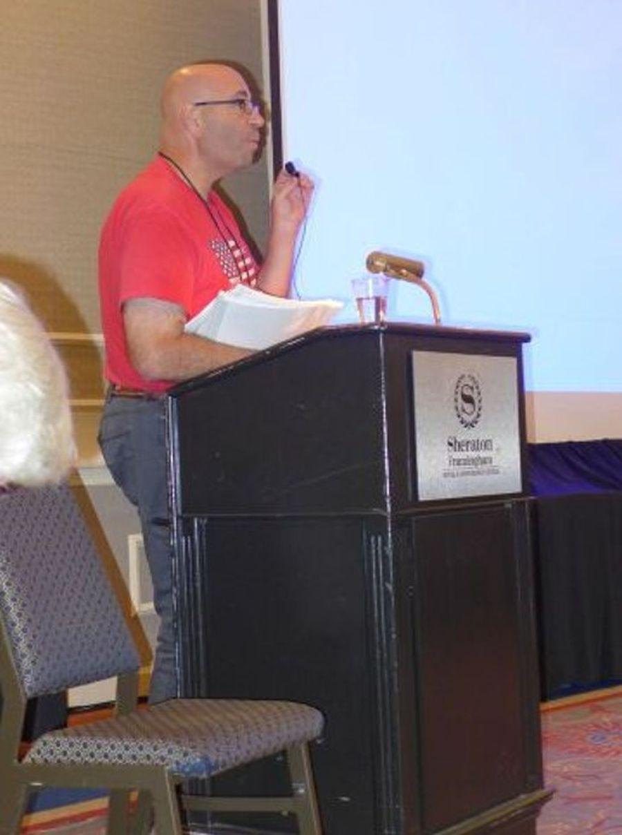 Jay Sespico, editor of CrossWords