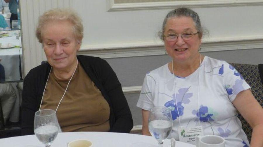 Leslie Milde and Rosemarie Rigoli